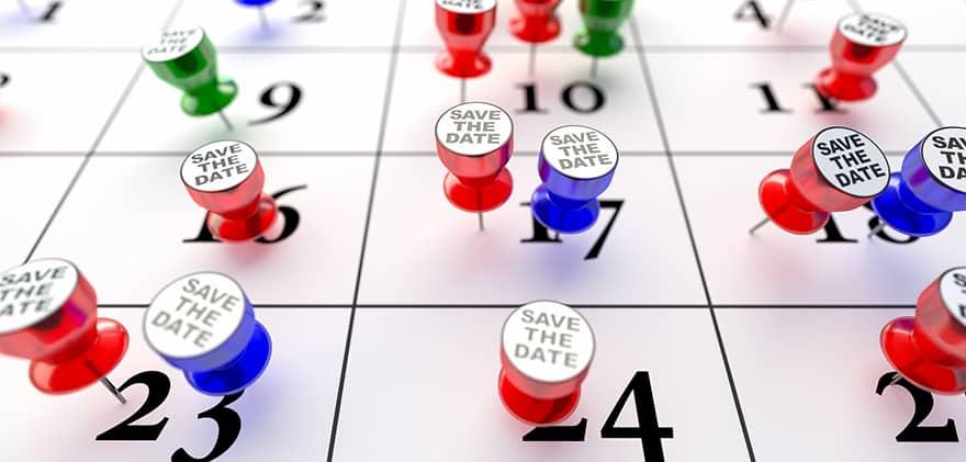 Papierkalender Mit Terminen